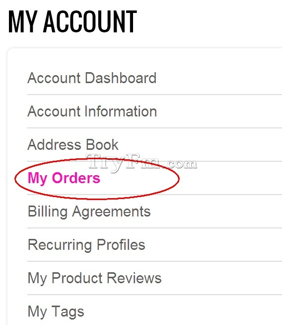 tryfm track my package in tryfm.com