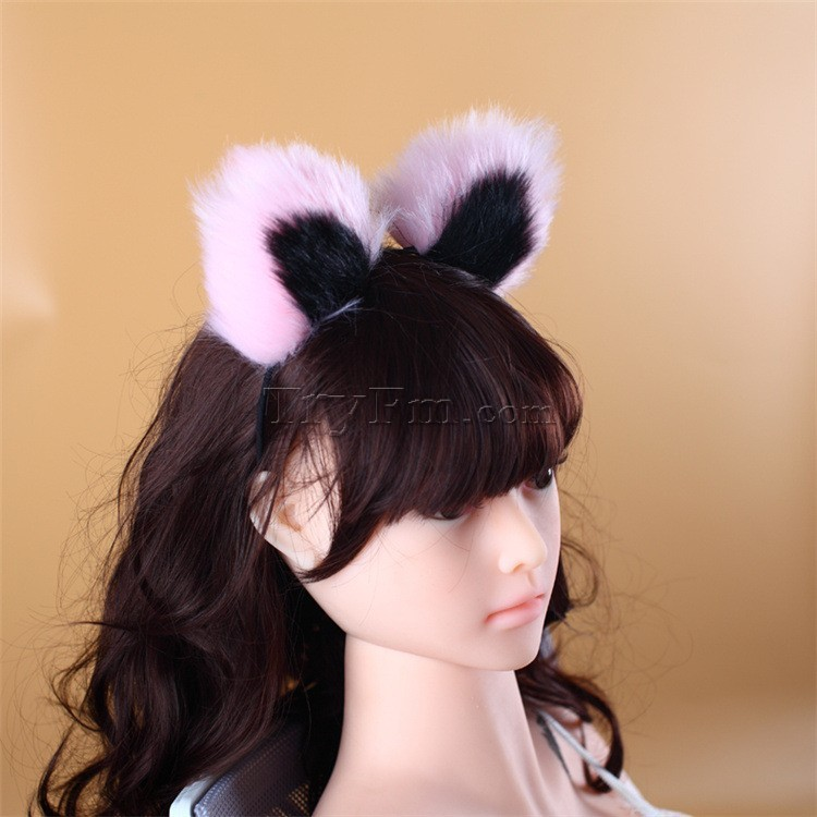 2-pink-black-furry-hair-sticks-headdress1.jpg