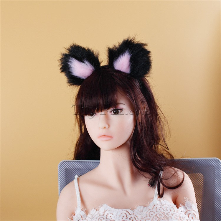2-pink-black-furry-hair-sticks-headdress7.jpg