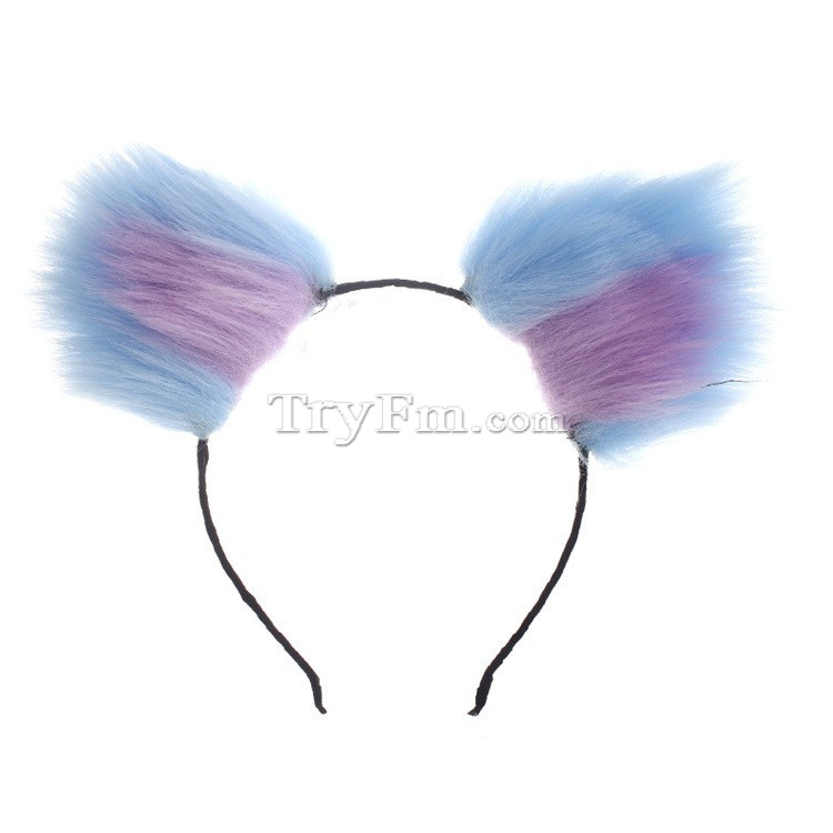 10-Blue-purple-furry-hair-sticks-headdress2.jpg