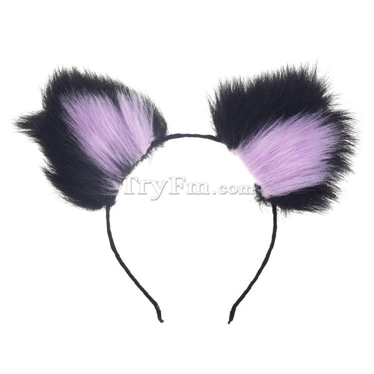 13-black-purple-furry-hair-sticks-headdress3.jpg