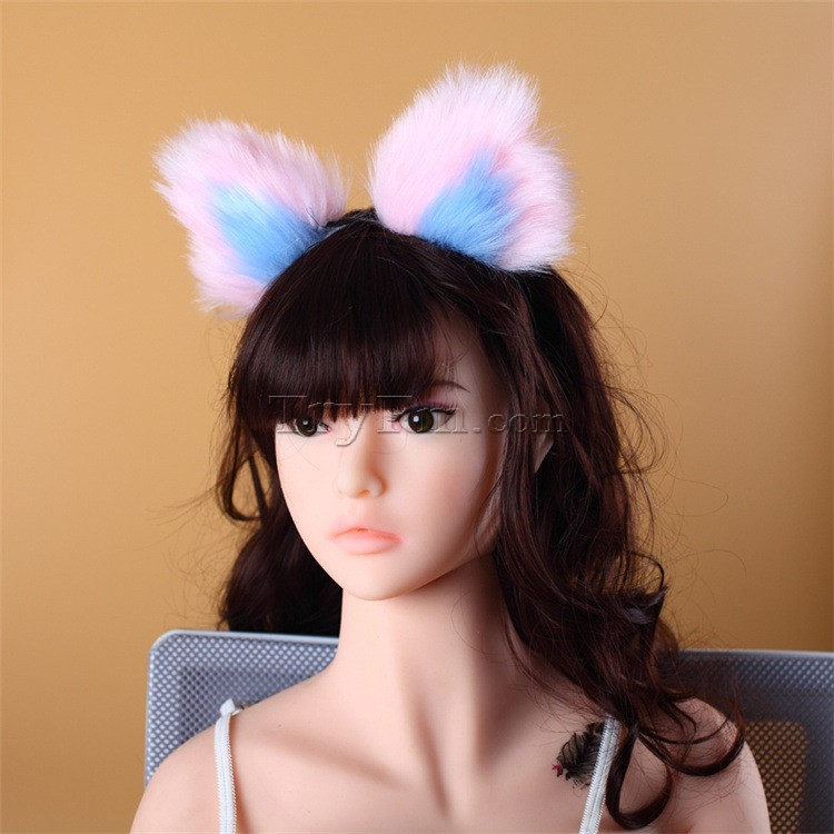 8-blue-pink-furry-hair-sticks-headdress4.jpg