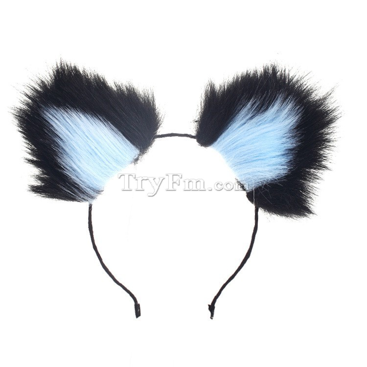 9-Blue-black-furry-hair-sticks-headdress3.jpg